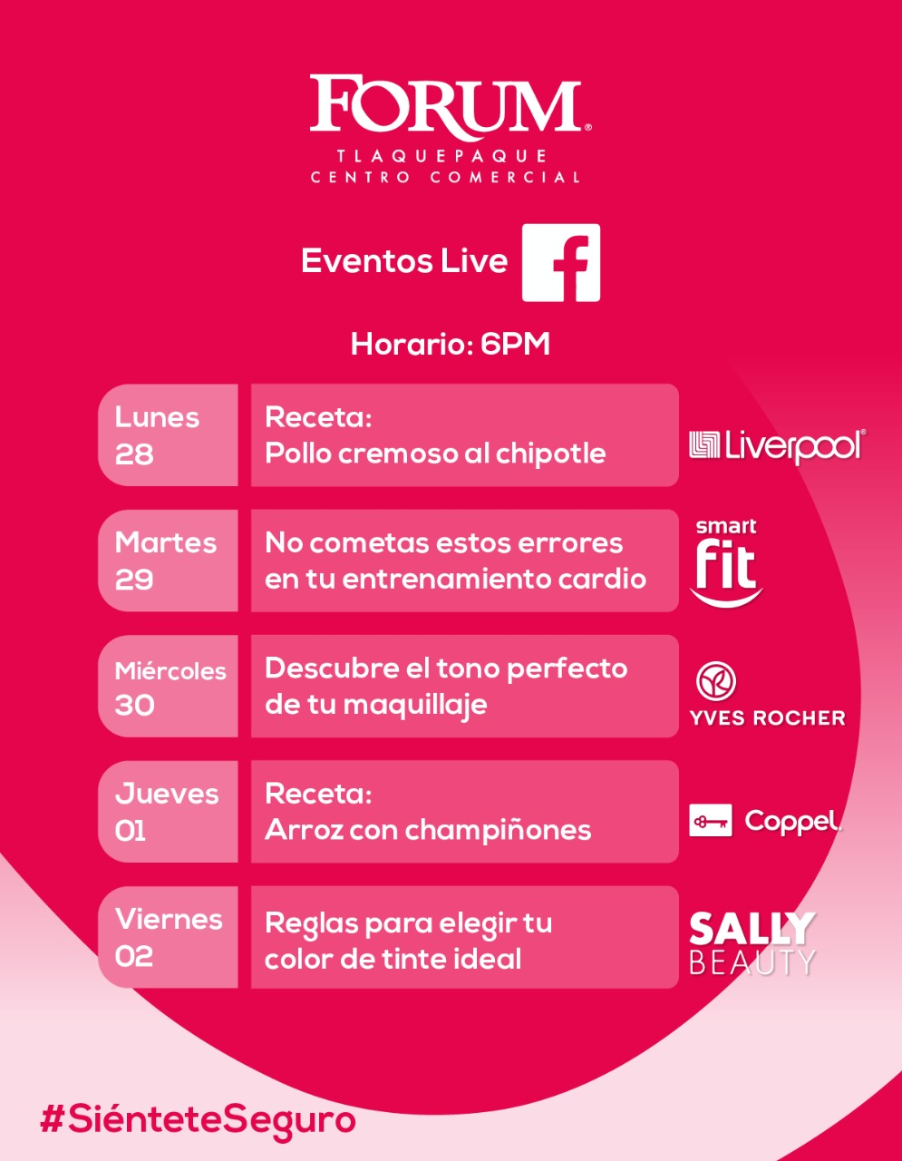 Las Plazas Outlet Lerma - Eventos Digitales vía Facebook